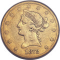 Liberty Eagles, 1872-CC $10 Fine 12 PCGS. CAC. Variety 1-A....