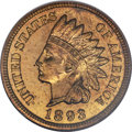 Proof Indian Cents, 1893 1C PR65 Red and Brown NGC....