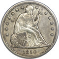 Seated Dollars, 1850-O $1 AU50 PCGS....