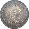 Early Dollars, 1799 $1 7x6 Stars AU55 PCGS. B-5, BB-157, R.2....