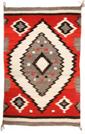 American Indian Art:Weavings, A NAVAJO TRANSITIONAL RUG. c. 1905...