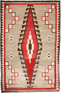 American Indian Art:Weavings, A NAVAJO REGIONAL RUG. Klagetoh. c. 1930...