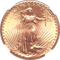Saint-Gaudens Double Eagles, 1927 $20 MS66+ NGC. CAC....