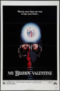 """Movie Posters:Horror, My Bloody Valentine (Paramount, 1981). One Sheet (27"""" X 41"""").Horror.. ..."""