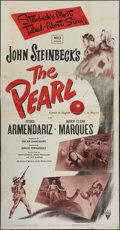 "Movie Posters:Adventure, The Pearl (RKO, 1948). Three Sheet (41"" X 81""). Adventure.. ..."