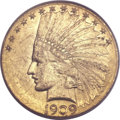 Indian Eagles, 1909-D $10 MS62 PCGS. CAC....