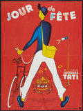 """Movie Posters:Comedy, Jour De Fete (Parafrance, R-Early 1970s). French Affiche (22.75"""" X31""""). Comedy.. ..."""