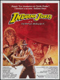 "Movie Posters:Adventure, Indiana Jones and the Temple of Doom (Paramount, 1984). FrenchPetite (15.75"" X 21""). Adventure.. ..."