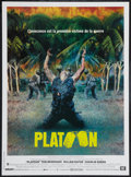 "Movie Posters:Academy Award Winners, Platoon (Orion, 1986). French Petite (15.5"" X 21.25""). Academy Award Winners.. ..."