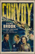 "Movie Posters:War, Convoy (RKO, 1940). One Sheet (27"" X 41""). War.. ..."