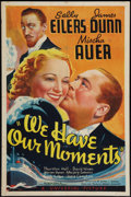 "Movie Posters:Comedy, We Have Our Moments (Universal, 1937). One Sheet (27"" X 41"").Comedy.. ..."