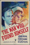 "Movie Posters:Drama, The Man Who Found Himself (RKO, 1937). One Sheet (27"" X 41""). Drama.. ..."