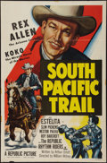 "Movie Posters:Western, South Pacific Trail & Other Lot (Republic, 1952). One Sheets (2) (27"" X 41""). Western.. ... (Total: 2 Items)"