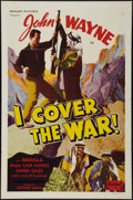 "Movie Posters:Action, I Cover the War (Realart, R-1948). One Sheet (27"" X 41""). Action....."
