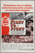 "Movie Posters:War, First to Fight & Other Lot (Warner Brothers, 1967). One Sheets(2) (27"" X 41""). War.. ... (Total: 2 Items)"