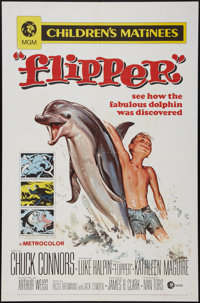 "Flipper's New Adventure and Others Lot (MGM, 1964). One Sheets (3) (27"" X 41""). Adventure. ... (Total: 3 Items..."