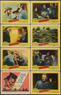 "Movie Posters:War, Paths of Glory (United Artists, 1958). Lobby Card Set of 8 (11"" X14""). War.. ... (Total: 8 Items)"