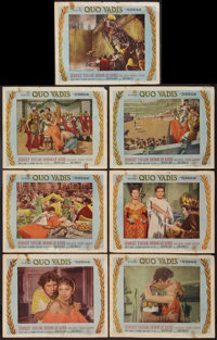 """Quo Vadis (MGM, 1951). Lobby Cards (7) (11"""" X 14""""). Historical Drama. ... (Total: 7 Items)"""