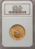 Indian Eagles: , 1908 $10 Motto AU58 NGC. NGC Census: (628/2992). PCGS Population(592/2461). Mintage: 341,300. Numismedia Wsl. Price for pr...