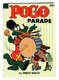 Golden Age (1938-1955):Funny Animal, Dell Giant Comics: Pogo Parade #1 (Dell, 1953) Condition: VF....