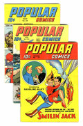 Golden Age (1938-1955):Miscellaneous, Popular Comics Group (Dell, 1938-46).... (Total: 13 Comic Books)