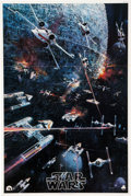 Memorabilia:Poster, Star Wars Movie Poster (20th Century-Fox, 1977)....