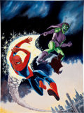 Original Comic Art:Covers, The Spectacular Spider-Man #2 Cover Recreation Original Art(undated)....