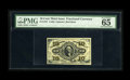 Fractional Currency:Third Issue, Fr. 1251 10c Third Issue PMG Gem Uncirculated 65 EPQ. A lovely example of the red back Washington note with superior color a...