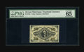Fractional Currency:Third Issue, Fr. 1251 10c Third Issue PMG Gem Uncirculated 65 EPQ. Fiery red inks and razor sharp print quality are but two of the highli...