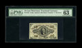 Fractional Currency:Third Issue, Fr. 1252 10c Third Issue PMG Choice Uncirculated 63. The bronzing is bright and the margins are even except down at lower le...