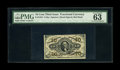 Fractional Currency:Third Issue, Fr. 1253 10c Third Issue PMG Choice Uncirculated 63 EPQ. A touch of tightness is noticed in the top margin on this deeply in...