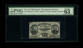 Fr. 1274SP 15c Third Issue Narrow Margin Face PMG Choice Uncirculated 63 EPQ. A lovely example of this scarcer hand sign...