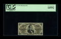 Fractional Currency:Third Issue, Fr. 1291 25¢ Third Issue PCGS Very Choice New 64PPQ. A lovely Red Back Fessenden with embossing that can be clearly seen thr...