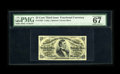 Fractional Currency:Third Issue, Fr. 1294 25c Third Issue PMG Superb Gem Unc 67EPQ. A William Pitt Fessenden Third Issue 25¢ note in a state of preservation ...