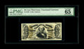 Fractional Currency:Third Issue, Fr. 1328 50c Third Issue Spinner PMG Gem Uncirculated 65 EPQ. An attractive example of this hand-signed number that has bold...