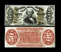 Fractional Currency:Third Issue, Fr. 1328SP 50c Narrow Margin Pair Third Issue Spinner Gem New. This is an astounding narrow margin specimen pair of this muc... (Total: 2 notes)