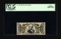 Fractional Currency:Third Issue, Fr. 1330 50¢ Third Issue Spinner PCGS Gem New 65PPQ. Bill purchased this note from Tom Denly back in the mid-1990s. This rar...