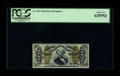 Fractional Currency:Third Issue, Fr. 1333 50¢ Third Issue Spinner PCGS Choice New 63PPQ. A well-margined, boldly printed, beautifully bright Fractional. Flas...