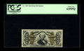 Fractional Currency:Third Issue, Fr. 1335 50¢ Third Issue Spinner PCGS Choice New 63PPQ. An underappreciated and rather rare number--particularly when found ...