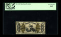 Fractional Currency:Third Issue, Fr. 1345 50¢ Third Issue Justice PCGS Very Choice New 64. Beautifully margined for a Justice with good color and the appeara...