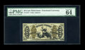 Fractional Currency:Third Issue, Fr. 1347 50c Third Issue Justice PMG Choice Uncirculated 64 EPQ. A very well margined and colorful example of this Red Back ...