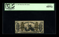 """Fractional Currency:Third Issue, Fr. 1348 50c Third Issue Justice PCGS About New 50PPQ. This """"1"""" and """"a"""" Red Back Justice is a very tough note to find in any..."""