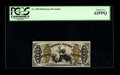 Fractional Currency:Third Issue, Fr. 1350 50c Third Issue Justice PCGS Choice New 63PPQ. This is a pleasing Justice with the margin characteristics usually s...