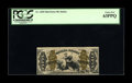 Fractional Currency:Third Issue, Fr. 1350 50c Third Issue Justice PCGS Choice New 63PPQ. Plenty of embossing and blazing color is noticed on this Justice tha...