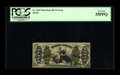 Fractional Currency:Third Issue, Fr. 1365 Milton 3R50.10j 50¢ Third Issue Justice PCGS Very Fine 35PPQ. This is one only three known examples of the very rar...