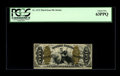 Fractional Currency:Third Issue, Fr. 1373 50¢ Third Issue Justice PCGS Choice New 63PPQ. A lovely fiber paper note with a huge bottom margin, two close marg...