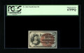 """Fr. 1261 10¢ Fourth Issue PCGS Superb Gem New 67PPQ. These notes, while thought of as """"common"""" by those o..."""