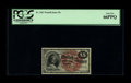 Fr. 1267 15¢ Fourth Issue PCGS Gem New 66PPQ. A hugely margined, visually stunning 15¢ note that has the eye a...