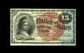 Fractional Currency:Fourth Issue, Fr. 1271 15c Fourth Issue Very Choice New. This fractional is bright and well margined with some embossing still visible....