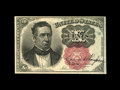 Fractional Currency:Fifth Issue, Fr. 1266 10¢ Fifth Issue Courtesy Autograph Very Choice New. Boldlysigned by Carmi Thompson immediately above Spinner's sig...